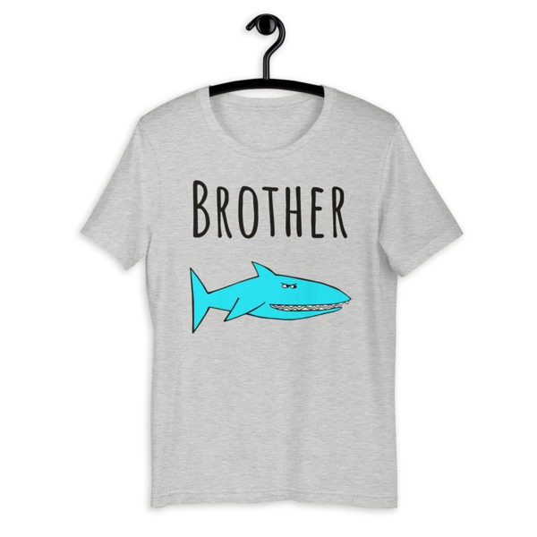 brother shark shirt mockup
